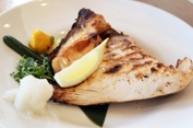 Grilled Large Yellowtail Collar